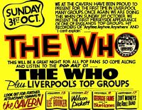 The WHO Concert Poster, The Cavern, Liverpool,  Re-Print, 29x42cm Premium Paper