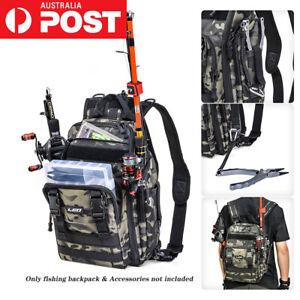 Fishing Backpack Multifunctional Fishing Tackle Bag Outdoor Water-resistant Bags