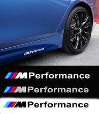 BMW M Performance Sideskirt Decal Fits all Models, F20 F30 E60 F10 E90 E46(2pcs)