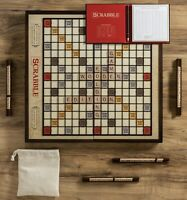 Winning Solutions Scrabble Grand Folding Edition Wooden Game Board NEW