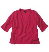 Women's Cropped V Neck None Jumpers & Cardigans