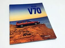 1998 Volvo V70 Wagon Brochure - International Version