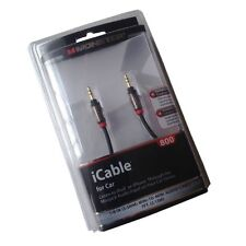 1/8(3.5mm) Jack Monster iCable 800 Car Audio Cable 7FT(2.13M)  For iPhone iPod