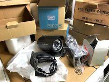 Lot Domotique  2 camera video surveillance + support CCD-188A / 30MN-P
