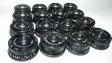 16 pcs INDUSTAR 50-2 3,5/50 M 42 MADE IN USSR good condition
