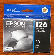 Epson Exceed Your Vision (T126120) 126 High Capacity Black Ink *EXPIRED*