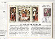1972 - LE MAITRE DE MOULINS  -DOC PHILATELIQUE OFFICIEL CEF 215