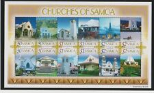 Samoa Churches of Samoa Sheet of 12 MNH Scott 1108a