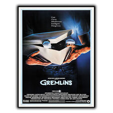 GREMLINS 1984 METAL SIGN WALL PLAQUE Retro Film Movie Advert poster print decor