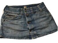 G-Star Damen Jeans Mini Rock Gr.S Crest Skirt Mini WMV