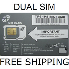 Net10 Dual Sim Card Gets Unlimited Talk Text Data $35 Mo. At&T Network