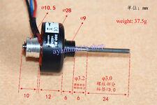 DC Brushless Motor 1400Kv Outer Rotor Motor Long Shasft  DIY Aircraft Model Part