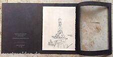 Giacometty alberto (1901-1966) original aguafuerte L 'Atelier ref. ganas 71 (ex310)