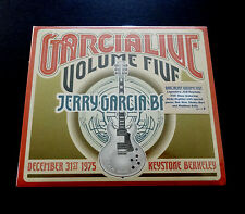 Jerry Garcia Band Garcia Live Volume 5 Five Keystone 12/31/1975 CD Grateful Dead