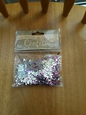 JUST MARRIED CONFETTI TABLE DECOR - NEW