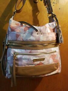 NEW Rosetti Convertible Crossbody Shoulder  Handbag Organizer Multi-color Floral
