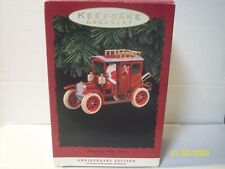 Hallmark Ornament 1973-1993 Here Comes Santa Car 20th Anniversary Edition NIB
