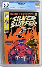 S086 SILVER SURFER #6 Marvel CGC 6.0 FN (1969) TALES OF THE WATCHER Backup Story