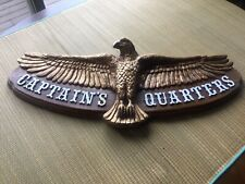 CAPTAINS QUARTERS PLAQUE / SIGN