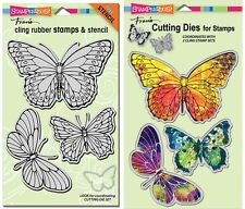 Stampendous Stamp & Die Set - Butterflies - 2 Sets - Butterfly
