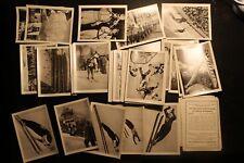 6704 100 Sammelbilder VII. Olympischen Winterspiele 1956 Cortina d Ampezzo cards