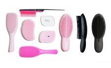 TANGLE TEEZER Ultimate Finisher Wet Detangler Back-Combing Hairbrush Black Pink