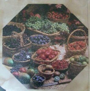 Springbok Puzzle Delicious Delights PZL8509 Minus 1 Piece Fruit Baskets