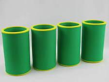 4er Set Getränkekühler 0,33l Flasche - Bierkühler - Neoprenkühler - passgenau