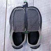Sanuk Mens Size 10 Chiba Slip On Sidewalk Surfers Loafers Shoes SMF1047 Gray