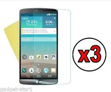 3x HQ CRYSTAL CLEAR SCREEN PROTECTOR COVER LCD Guard Film per LG G4 2015