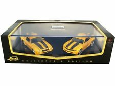 WOW EXTREMELY RARE Chevrolet Camaro 1977 + 2007 Set Movie Transformers 1:64 Jada