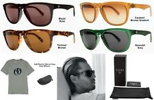 NEW Electric Leadfoot Ohm Melanin Lens Mens Round Sunglasses Msrp$100