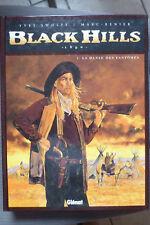 BD 1890 black hills n°1 rééd. 1999 TBE marc renier swolfs avec dédicace
