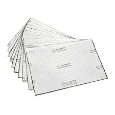 Sound Deadening Mat XL + Extra Thick Silver 2mm 2.5mm 200X300mm 300x400mm Pack