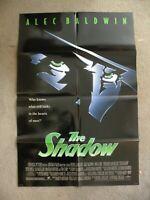 The Shadow 1994 Alec Baldwin John Lone 27X41 original  movie poster #940046