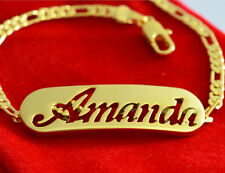 Name Bracelet Amanda 18ct Gold Plated Mother's Day Personalized Jewellery Gift