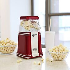 NOSTALGIA Electronic 8-Cup Hot Air Popcorn Popper Maker Machine.