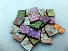 "Mosaic Van Gogh Glass TIles, handcut 3/4"""