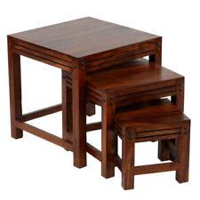 Set di tavolini marrone