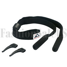 Outdoor Sports High-Elastic Comfort Adjustable Glasses Straps Cords Holder 2pcs
