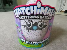 Hatchimals Glittering Garden Hatching Egg – Sparkly Penguala- Pink & Purple RARE