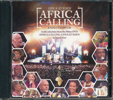 Africa Calling Live 8 At Eden RARE promo CD (audio selections from DVD) 2005