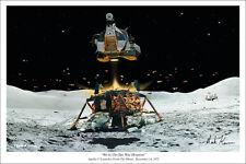 Apollo 17 Art Print by Mark Karvon