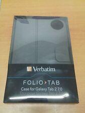 VERBATIM Folio Case for Samsung Galaxy Tab 2 7.0 - Graphite - NUOVA