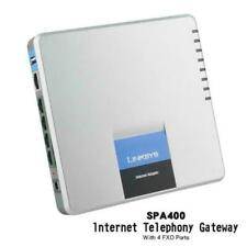 Best Choice Unlocked Linksys Spa400 4fxo Phone Adapter Internet Telephone Linksy