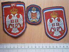 VRS BOSNIA REPUBLIKA SRPSKA Serbia army LOT PATCH MILITARY EMBLEM 1992 1995