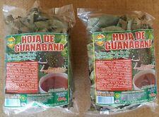 2 pack Hoja de Guanabana 100% natural 2 pack