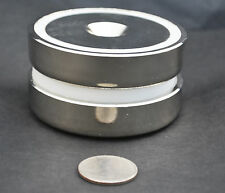 "1 GIANT POT MAGNET 247lb/112kg PULL FORCE 2 3/8"" x 5/8 60x15mm N35, US SELLER"