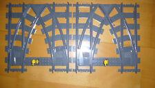 Lego 7996 City Technik Eisenbahn Doppelweiche Kreuzweiche Kreuzung Switch World