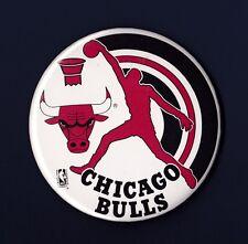 Chicago Bulls vintage basketball pinback button